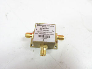 Mini circuits Zem 4300 Frequency Mixer 300 4300 Mhz