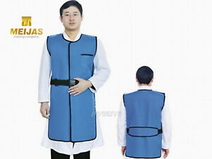 Sanyi New Type X ray Protection Protective Lead Vest 0 35mmpb Blue Fa05 M