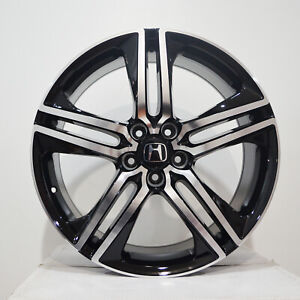 4 20 Inch Black Machined Rims Fits Honda Accord Coupe V6 2008 2018