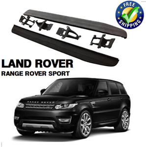 Side Foot Step Running Board Nerf Bar Fit Land Rover Range Rover Sport 2014 19