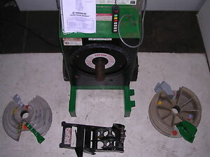 Greenlee 555 Sbc 854 855 Conduit Pipe Bender Emt Ridgid Imc 2 Shoes Multi roller