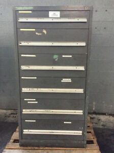 Vidmar Six Drawer Cabinet 31 L X 29 W X 59 5 H