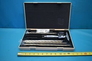 Used Mitutoyo Digital Depth Micrometer 329 350 10 With Case