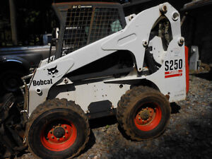 2004 Bobcat S250 Turbo Skid Steer Enclosed Cab A c And Heat Only 1289 Hours