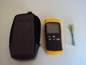 Fluke 51 Series Ii Digital Thermometer Calibrated With Pouch