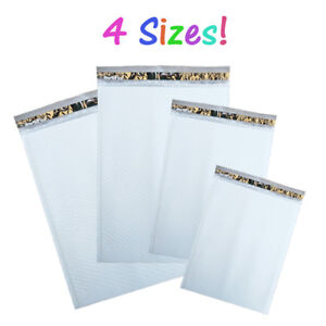 14x19 12x18 9x13 8x12 White Poly Bubble Mailing Envelopes Padded 7 6 4 2