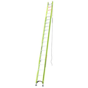 Little Giant 17440 40 foot Hyperlite Ladder W Cable Hook V rung And Claw