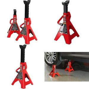Floor Jack Stand 3 Ton Heavy Duty Steel For Car Vehicle Lifter With Large Saddle