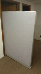 48 w X 66 h Privacy Panel Cubicle Office Partition Office Divider
