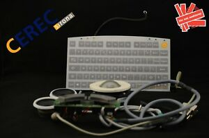 Sirona Cerec 3 Acquisition Unit Keyboard Track Ball Audio System Dental Cadcam