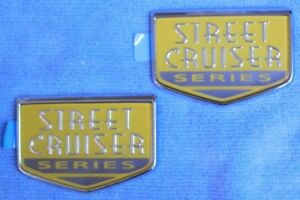Nos Oem Chrysler Pt Cruiser Steet Cruiser Series Emblems Custom Rat Rod Mopar