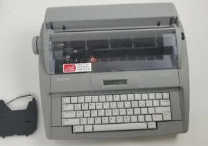 Brother Sx 4000 Electronic Typewriter Lcd Display