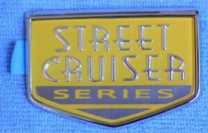 Nos Oem Chrysler Pt Cruiser Steet Cruiser Series Emblem Custom Rat Rod Mopar