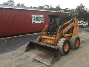 2006 Case 450 Skid Steer Loader W Cab No Door Coming Soon
