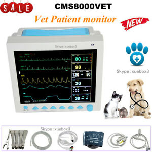 Contec New Vet Veterinary Patient Monitor Icu Vital Signs 6 parameter usa Fedex