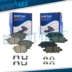 Front Rear Ceramic Brake Pads For Nissan Altima Maxima Murano Fx35 Fx45