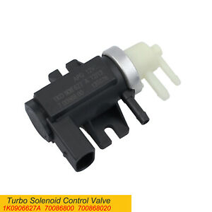 Turbo Boost Control Solenoid Valve Kit For N75 Valve Vw Transporter 1k0906627a