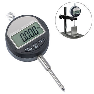 0 001mm 0 00005 Digital Probe Dial Indicator Gauge Clock Range 0 25 4mm 1
