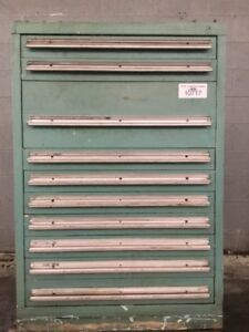 10 Drawer Tool Parts Cabinet Tools Included