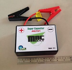 Car Jump Start Super Capacitor 60f 12v Sub Zero Car Battery Booster 230 Amps