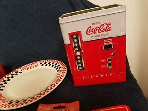 coca cola collectables some new some used with scratches buying all for one mone