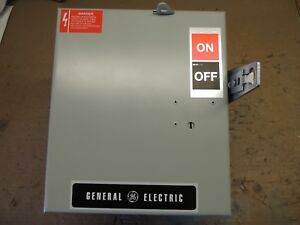 Ac361rg Ge Busway Switch Plug Recon 30 Amp 600v With Ground