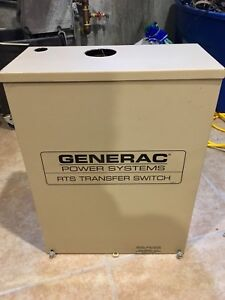 Generac Automatic Transfer Switch Rtsn200a3 Single Phase 200 Amp 120 240v