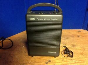 Apollo Commercial Wireless Amplifier Amp Ac Dc Battery Pa 5000 Portable Used