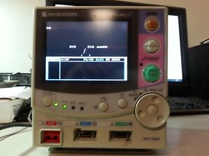 Nihon Kohden Life Scope Opv 1500k Beside Patient Monitor As Is Read Condition