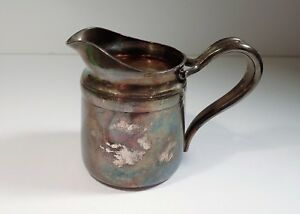 Reed Barton Silver Soldered Creamer Numbered 4016 240 Grams Mini Pitcher