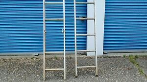 Aluminum 28 Ft Extension Ladder By Keller Duty Rating 200 Lbs type Three