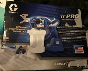 Graco Tc Pro Corded Airless Paint Sprayer 17n163 Sealed New