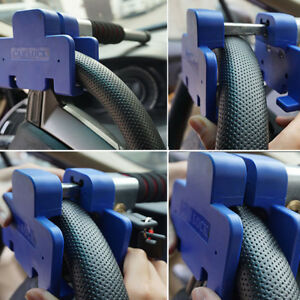 Car T Shaped Auto Lock Devices Security System Steering Wheel Anti Theft Lock