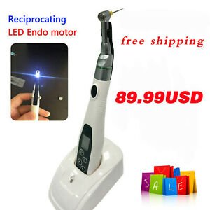 Dental Wireless Led Endo Motor 16 1 Contra Angle Endodontic Treatment Handpiece