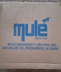 Mule Dual Emergency Lights Md Ec 18 2