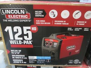 New Lincoln Electric K2513 1 125hd Weld Pak