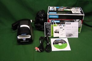 Dymo Labelwriter 450 W cables rolls Dvd Manuals 1750110 9856
