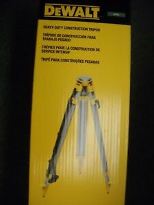 Dewalt Dw0737 60 Construction Laser Grade Level Tripod 5 8 X 11 Threads New