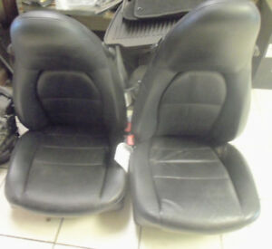 1999 To 2005 Porsche 911 Power Seats Black Leather Heated Power Memory Dside