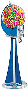 The Meridian Beaver Bulk Vending Gumball Machine Blue