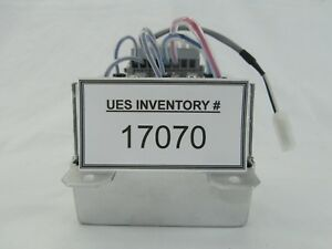 Ulvac Technologies High Voltage Relay Interface Assembly Gigavac 3cxs7 Used