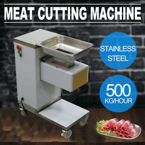 Professional Meat Cutting Machine Meat Cutter Slicer 500kg With 3mm Blade Sets