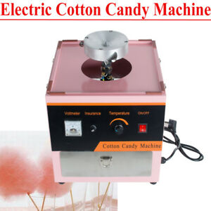 Electric Cotton Candy Machine Floss Maker Commercial Carnival Party Kids Dessert