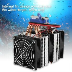 12v Cooler Refrigeration Water Chiller Diy Cooling System For 30l 40l Fish Tank