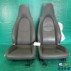 2005 Porsche Boxster Oem Front Rh Lh Right Left Seats 48k Miles 987 2 7l A59