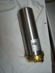 Cuno Ct101 Water Filter Housing 3 4 Npt Ports