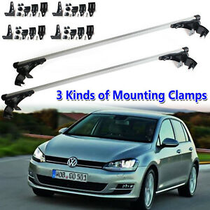 For Volkswagen Golf Tiguan Touareg Gti 47 120cm Car Roof Rack Cross Bar