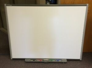 Smart Board Sb660 64 W Pen Tray Pens Eraser Cable Smartboard Local Pickup
