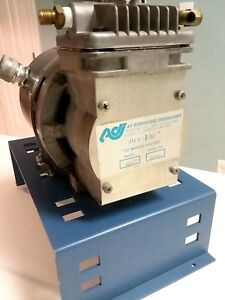 Adi Dia vac 179 Diaphragm Sampling Vacuum Pump W 1725rpm 1 8hp Ge Motor