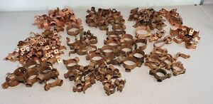 Lot Of Proflo Copper Clad Straps Of Various Sizes